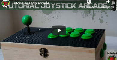 Mandos Arcade 2 jugadores
